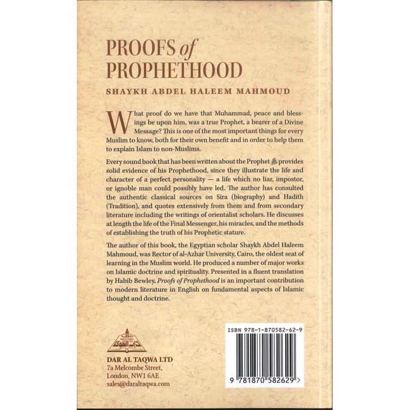 Proofs of Prophethood