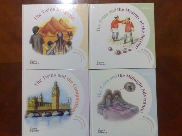 Acorn & Berry Set of Four ( 4 Books ) By Sajda Nazlee