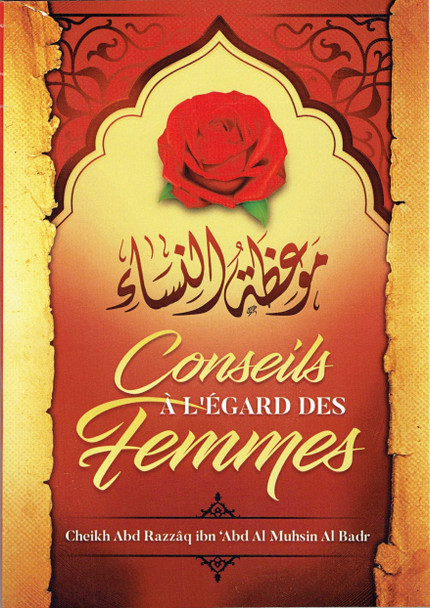 Conseils À L Égard Des Femmes ,French language,advice on women in french language,9781641367813,