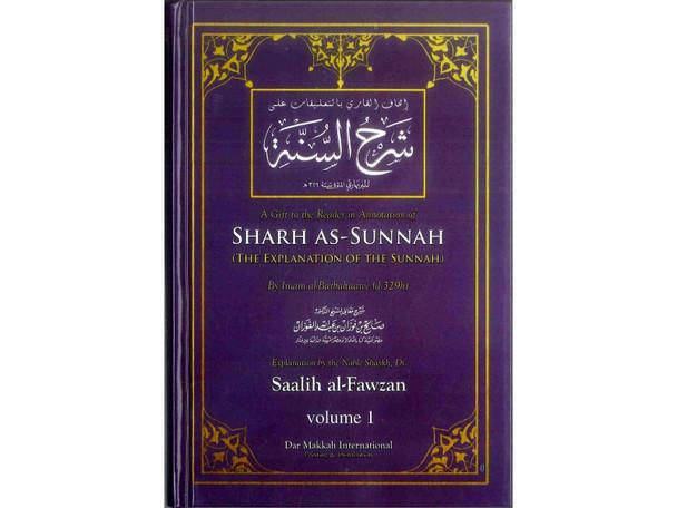 Sharh As-Sunnah The Explanation of the Sunnah (2 Vol Set)