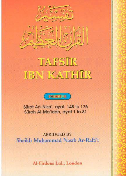 Tafsir Ibn Kathir Surah An nisa, Surah Al maidah Part 6