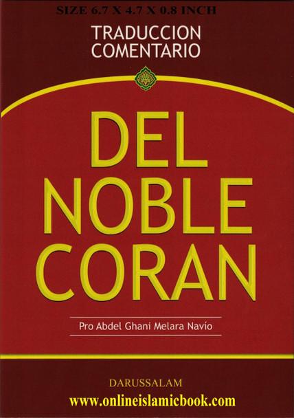 DEL NOBLE CORAN ( TRADUCCION COMENTARIO)