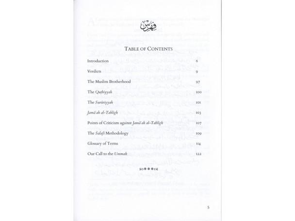 The precise verdicts regarding the deviant methodologies