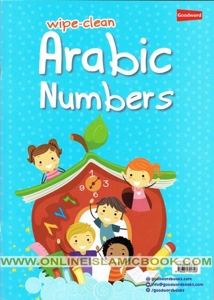 Wipe-Clean Arabic Number
