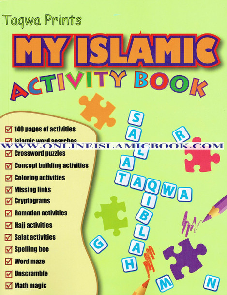 My Islamic Activity Book (Weekend Learning Series)