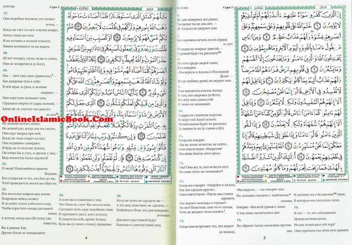 Tajweed Quran In Russian Translation  (Arabic To Russian Translation)