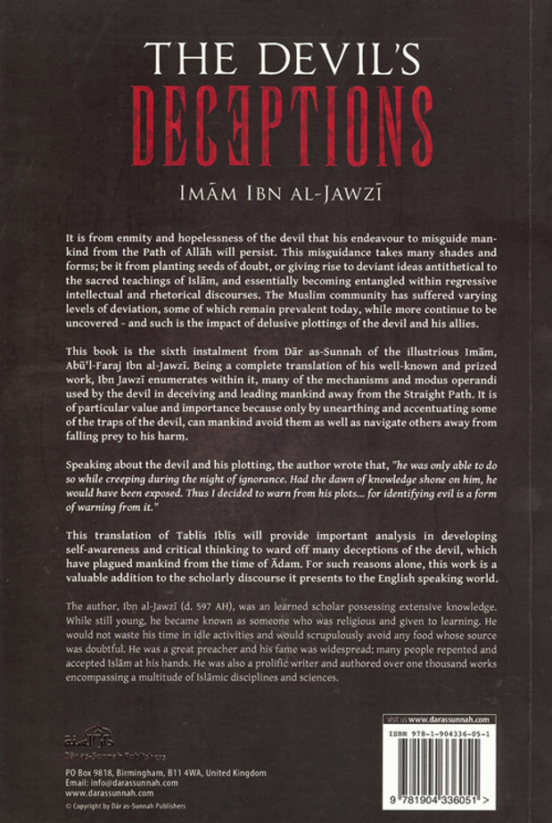 The Devil's Deception (Talbis Iblis)