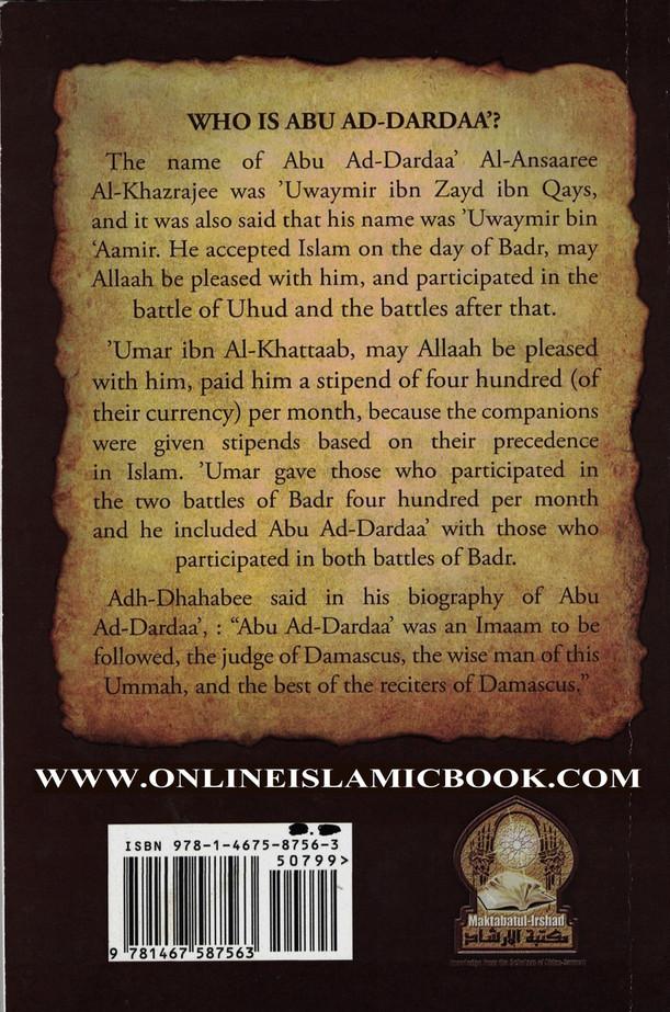 Advices of Abu Ad-Dardaa