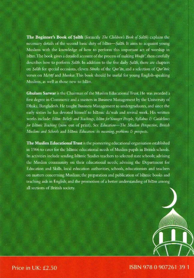 The Beginners Book of Salah By Ghulam Sarwar