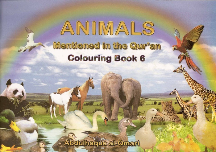 Colouring Book 6 Animals Mentioned In The Quran