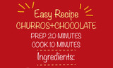 Easy Homemade Churros with Chocolate Recipe