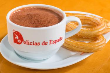 Spanish Churros con Chocolate