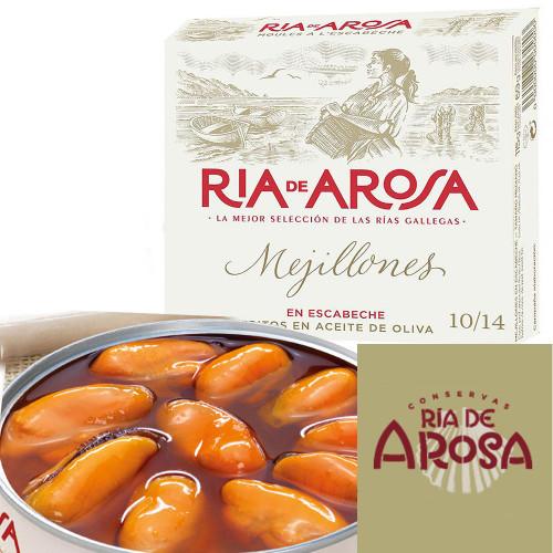 Mejillones en Escabeche ria de Arosa by Ortiz