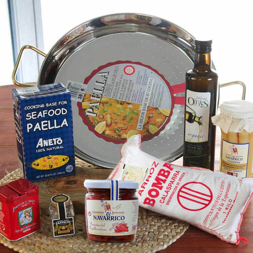 Paella set for 8 people - Deluxe Set