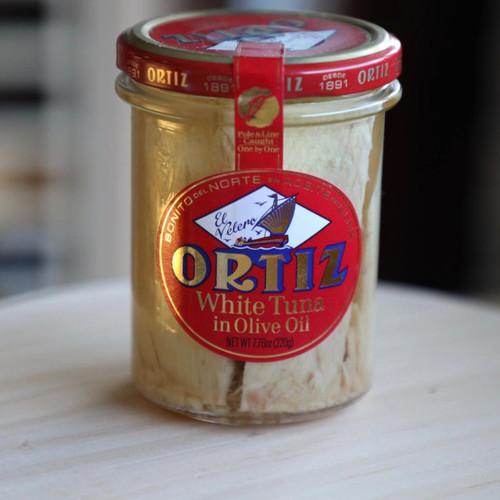 Bonito del Norte in Olive Oil Tuna Loin by Ortiz 7.8 oz