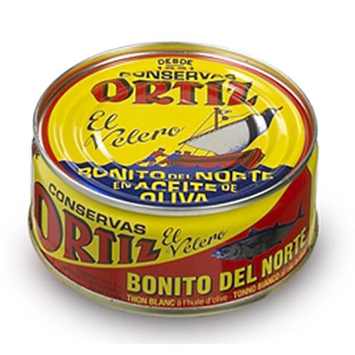 White Meat Tuna in Olive Oil by Ortiz