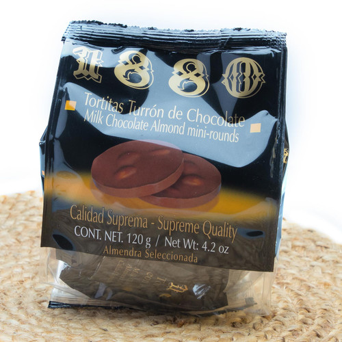 Milk Chocolate Almond mini rounds by 1880
