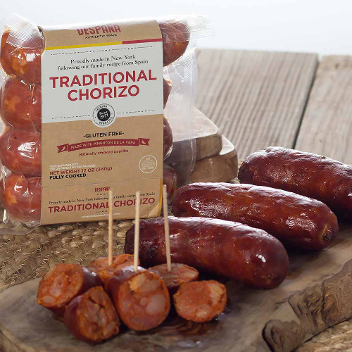 Traditional Spanish Sausages Chorizo by DEspaña Brand