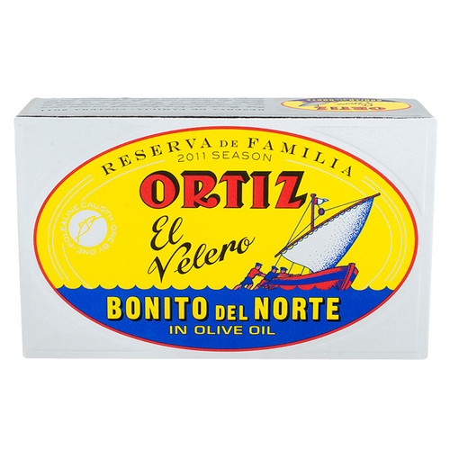 White Tuna in Olive Oil - Rsva. de Familia by Ortiz