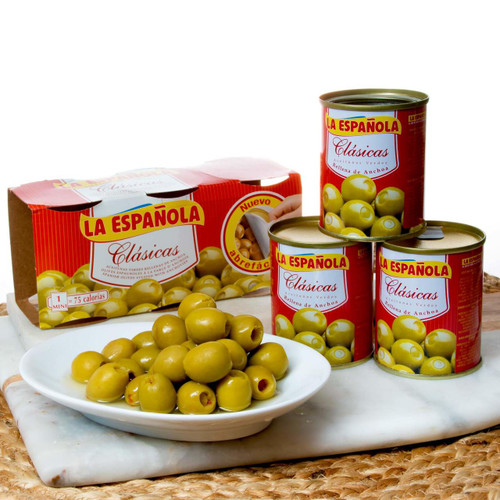 La Española Spanish Olives Stuffed with Anchovies