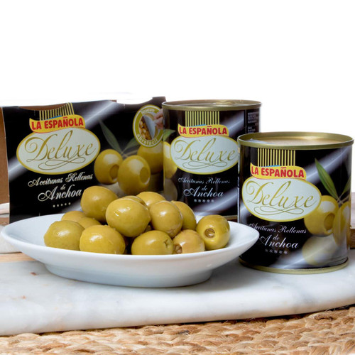 Spanish Olives Stuffed with Anchovies