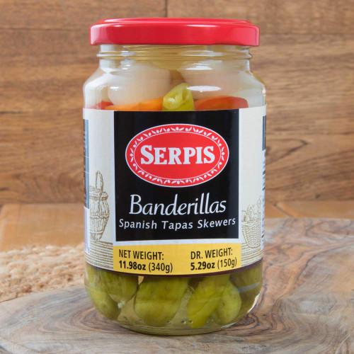 Banderillas - Tapas skewers by Serpis