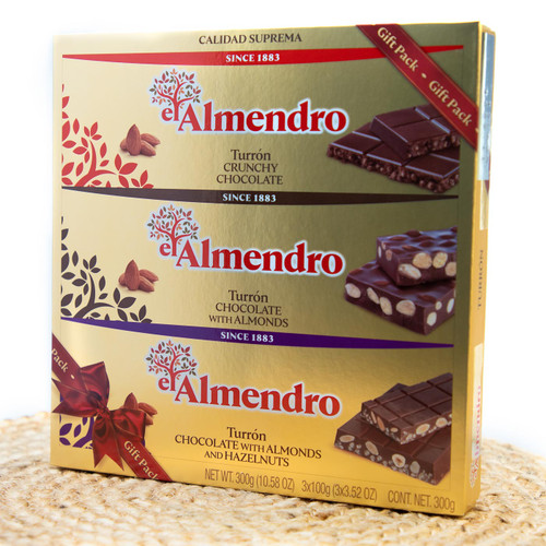 Crunchy Chocolate gift pack by El Almendro