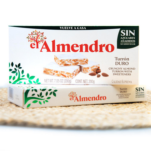 Sugar-free Hard Nougat by El Almendro