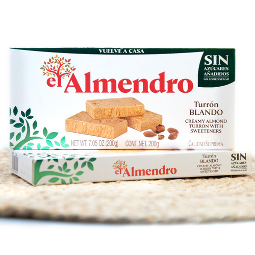 Sugar-free Soft Almond Turron by El Almendro