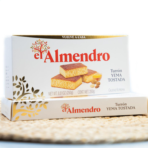 Caramelized Egg-yolk Turron by El Almendro