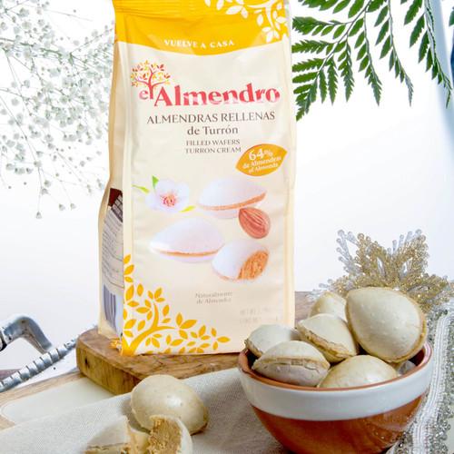 Almond cream filled wafers by El Almendro