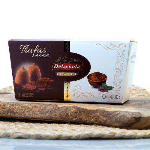 Cocoa Truffles by Delaviuda
