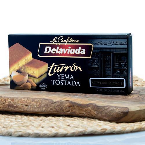 Caramel Egg-yolk Turron by Delaviuda