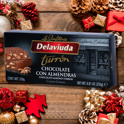 Chocolate Almond Turron by DeLaViuda