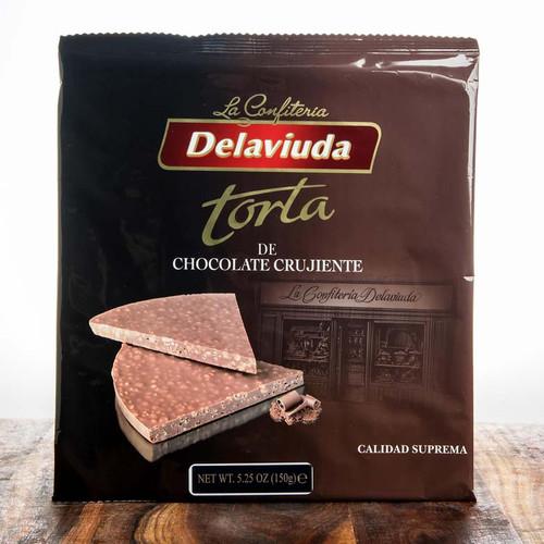 Crunchy Chocolate round by DeLaViuda