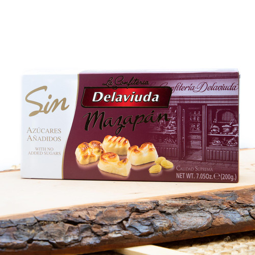 Sugar-free Marzipan Shapes by Delaviuda