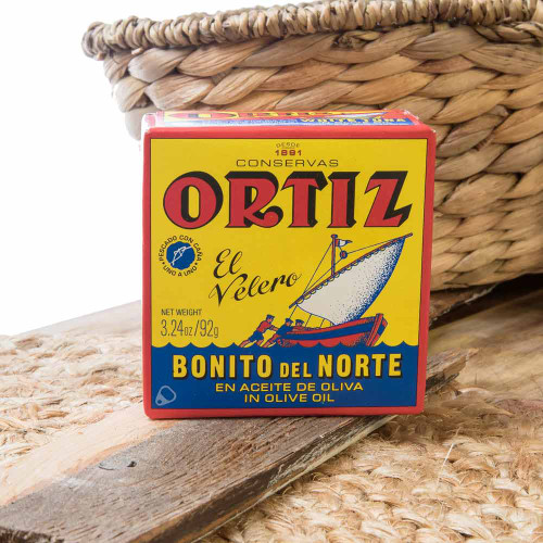 Bonito del Norte by Ortiz Tuna loin 3.25 oz