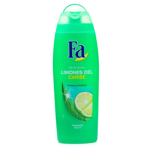 Shower gel Fa limones del Caribe