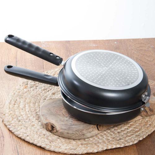 Double-Pan for Tortilla Española