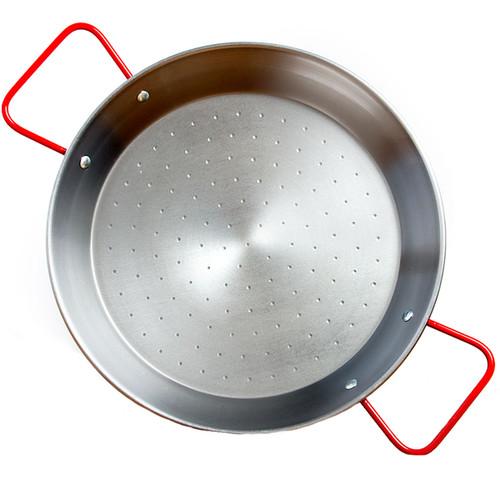 Garcima 10-Inch Polished Steel Paella Pan, serves 2