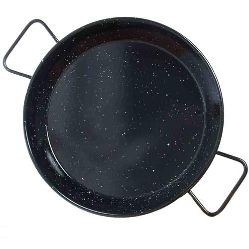 Garcima 12 Inch Enameled Paella Pan - Serves 6