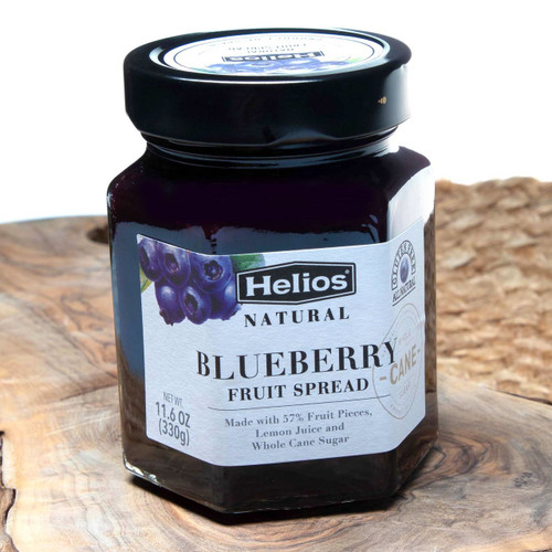 Helios Confitura Natural Blueberry 11.6 oz