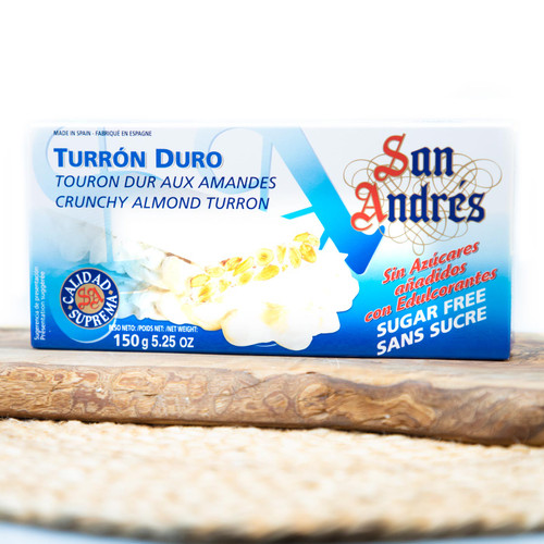 Sugar-free Crunchy Almond Nougat by San Andres