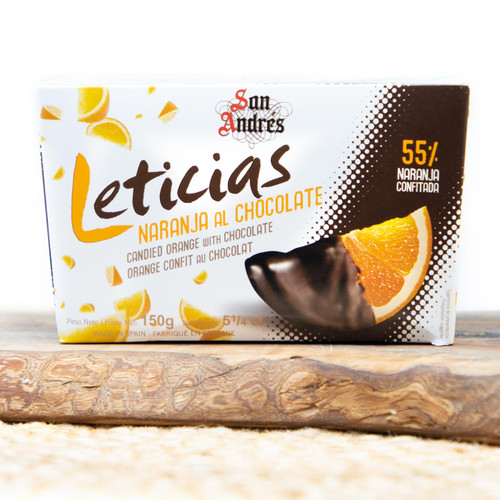 Candied Orange with Chocolate Leticias by San Andres