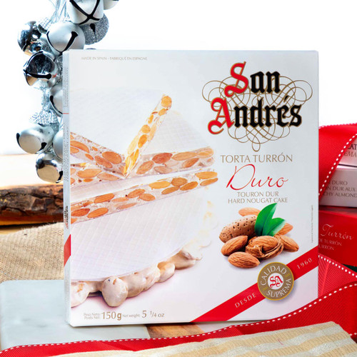 Hard Nougat cake by San Andres