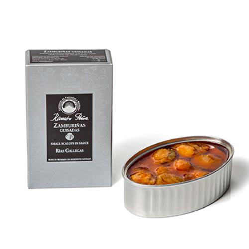Zamburinas - Small Scallops in sauce by Ramón Peña