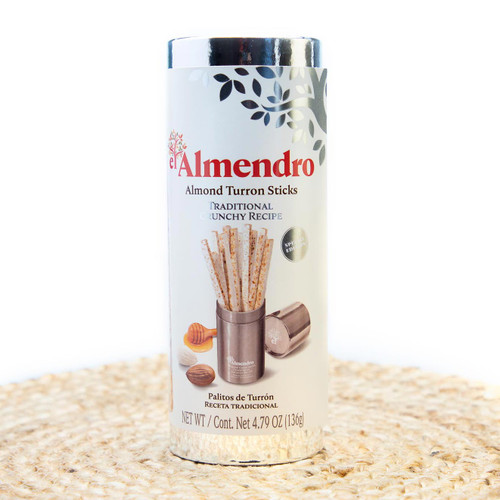 Traditional Almond Turron Sticks in Gift Presentation by El Almendro