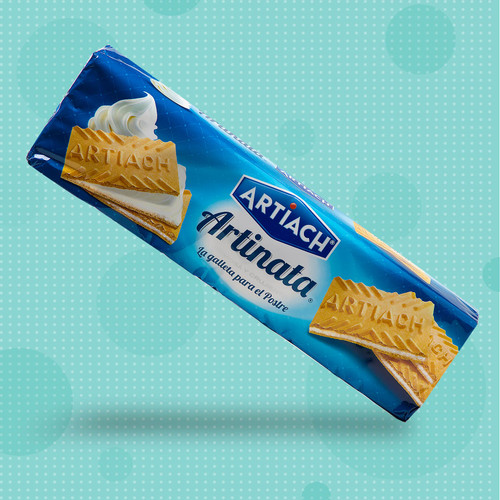 Galletas Artinata - milk cream wafer cookies by Artiach