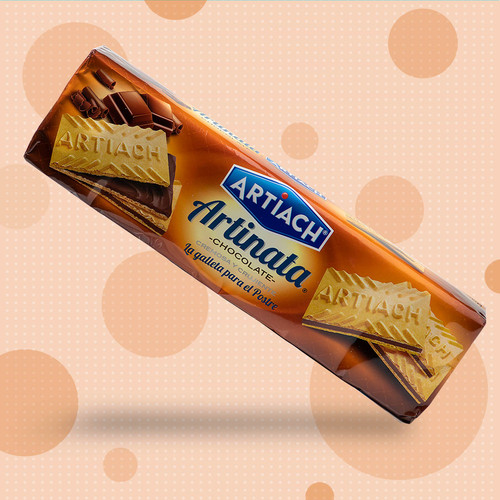 Galletas Artinata - chocolate wafer cookies by Artiach