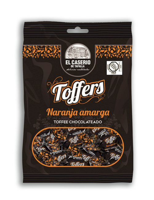 Bitter orange Toffers by El Caserio